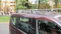 Рейлинги на автомобиль Фиат Добло 2 (рейлинги Fiat Doblo 2 конце