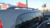 Рейлинги на крышу Мерседес Вито W639 концевик метал (рейлинги Mercedes Vito W639)