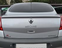 Установка лип спойлера на багажник Renault Megane 2 седан