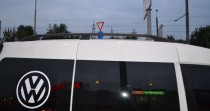 Рейлинги Фольксваген Кадди концевик пластик (рейлинги на крышу Volkswagen Caddy)
