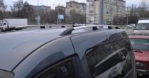 Рейлинги на Фольксваген Кадди концевик пласт (рейлинги Volkswagen Caddy)