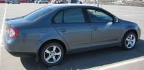 Тюнинг спойлер на крышку багажника Volkswagen Jetta 5 (установка