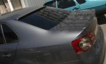 Тюнинг спойлер на заднее стекло Фольксваген Джетта 5 (бленда на