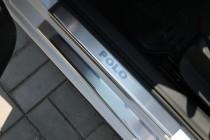 защитные накладки Volkswagen Polo 5