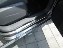 Накладки на пороги Фольксваген Туран 1 (защитные накладки Volkswagen Touran 1)