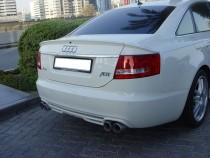 Спойлер Ауди А6 С6 (задний спойлер на багажник Audi A6 C6)