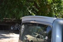 Фирменный спойлер для Фиат Добло 2 (задняя дверь ляда)