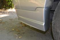 Аэродиамические накладки на бампер Toyota Land Cruiser Prado 120