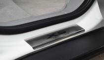 Накладки на пороги БМВ Х5 Е70 (защитные пороги BMW X5 E70)