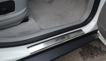 купить Накладки на пороги БМВ Х5 E70 (защитные пороги BMW X5 E70