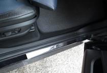 Накладки на пороги БМВ Х5 E70 в магазине expresstuning (защитные
