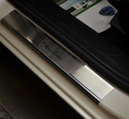 Накладки на пороги Лянча Ипсилон (защитные накладки Lancia Ypsilon)