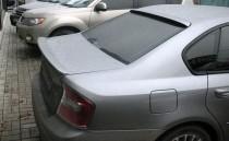 Накладка спойлер на крышку багажника Subaru Legacy B4 (тюнинг сп