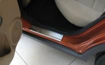 купить Накладки на пороги Хонда Цивик 8 5Д (защитные накладки Ho