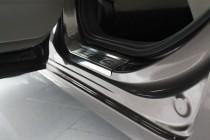 Накладки на пороги Хонда Цивик 9 4Д в магазине експресстюнинг (з