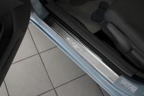 Накладки на пороги Хонда Цивик 9 4Д в магазине expresstuning (за