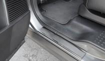 купить Накладки на пороги Хонда Пилот (защитные накладки Honda P
