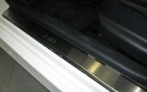 Накладки на пороги Хендай i30 1 (защитные накладки Hyundai i30 FD)
