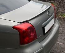 Установка лип спойлера на кромку багажника Toyota Avensis 2 (нак