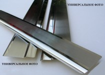 Накладки на пороги Инфинити G седан (защитные накладки Infinity G sedan)
