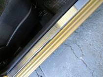 купить Накладки на пороги Киа Сид 1 3Д (защитные накладки Kia Ce