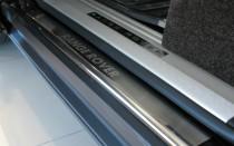 Накладки на пороги Рендж Ровер 3 (защитные накладки Range Rover 3)