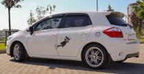 Купить спойлер задней двери Toyota Auris 5d (спойлер на Аурис Хэ