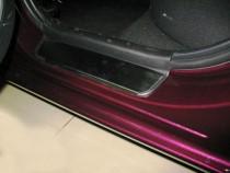 Накладки на пороги Мазда 3 BL (защитные накладки Mazda 3 BL)