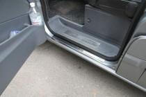 Накладки на пороги Мерседес Вито W639 (защитные накладки Mercedes Vito W639)
