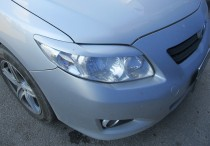 Передние реснички на фары Toyota Corolla 9 поколения (накладки ф