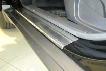 купить Накладки на пороги Ниссан Х-Трейл 3 T32 (защитные накладк