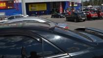 Спойлер бленда на стекло Тойота Камри 30 (фото ExpressTuning)