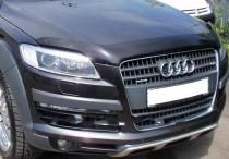 Мухобойка капота Ауди Q7 (дефлектор на капот Audi Q7)