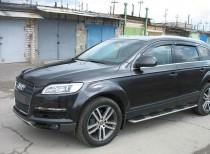 заказать Мухобойку капота Ауди Q7 (дефлектор на капот Audi Q7)