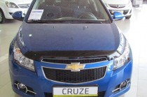 заказать дефлектор на капот Chevrolet Cruze)