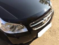 Мухобойка капота Шевроле Эпика (дефлектор на капот Chevrolet Epica)