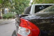 Спойлер на багажник Тойота Камри 30 (задний лип спойлер Toyota C