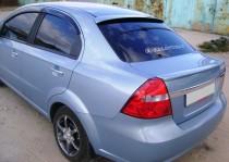 Козырек на стекло Chevrolet Aveo T250 седан (фото)