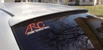 Козырек бленда на стекло Шевроле Авео седан ExpressTuning