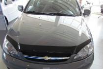 Дефлектор на капот Шевроле Лачетти хэтчбек (мухобойка капота Chevrolet Lacetti hatchback)