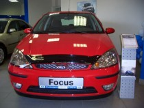 Мухобойка капота Форд Фокус 1 (дефлектор на капот Ford Focus 1)