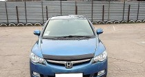 Мухобойка капота Хонда Цивик 8 седан (дефлектор на капот Honda Civic 8 sd)
