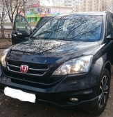 Мухобойка капота Хонда СРВ 3 (дефлектор на капот Honda CR-V 3 RE)