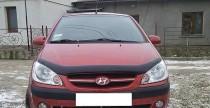 Мухобойка капота Хендай Гетц (дефлектор на капот Hyundai Getz)
