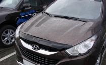 Мухобойка капота Хендай ix35 (дефлектор на капот Hyundai ix35)