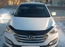 мухобойка капота Hyundai Santa Fe 3 DM