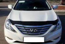 Мухобойка капота Хендай Соната 6 YF (дефлектор на капот Hyundai Sonata 6 YF)