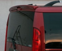 Спойлер Фиат Добло 1 (задний козырек для Fiat Doblo 1)
