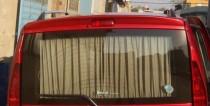 Накладка на заднюю дверь Fiat Doblo 1 (спойлер от ExpressTuning)