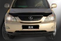 Мухобойка капота Лексус РХ 300 2 (дефлектор на капот Lexus RX300 2)